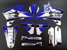 Yamaha YZF250 YZF450 2003-2005 NEW FLU PTS3 Graphics Kit Decals Motocross