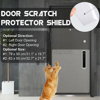 "31""/32.7"" Adhesive Door Scratch Protector Shield Clear Window Guard Pet Dog  e"