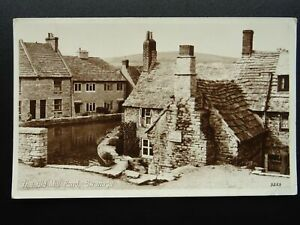 Dorset SWANAGE The Old Mill Pond c1952 RP Postcard by Photo Precision Ltd