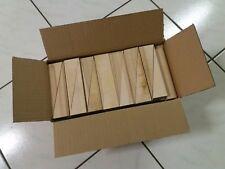 80 Holzkeile Hartholz Buche 134x24x36mm neu