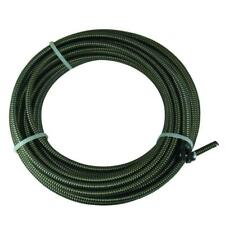 516 In X 50 Ft Slotted End Replacement Cable Drain Auger Snake Plumbing New