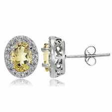 Citrine Topaz Fine Earrings