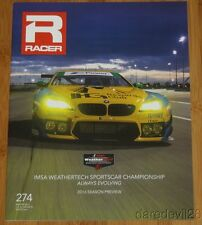 2016 RACER IMSA WTSC Season Preview Guide BMW Variant Cover