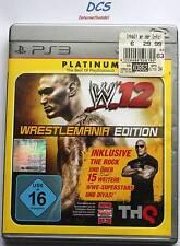WWE '12 - WrestleMania Edition (Sony PlayStation 3, 2013) Platinum