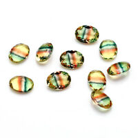 6*8 MM 1 CT Oval Loose Gemstones Watermelon Tourmaline Accessories Wholesale Lot