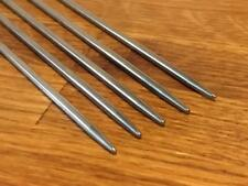 SET OF 5 DOUBLE POINTED ALUMINIUM KNITTING NEEDLES 3.5mm x 25cm DPN FREE UK P&P