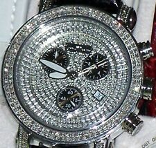 New Authentic Mens Joe Rodeo classic jcl16 st.steel 1.75ct.aprx.Diamond Watch