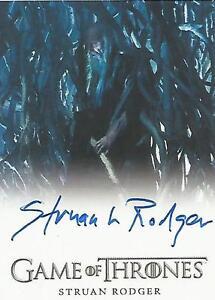 "Game of Thrones Season 6 - Struan Rodger ""Three-Eyed Raven"" Autograph Card"