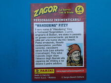 Figurine Panini Zagor Card n. 4 Panini Zagor Card C4