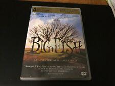 Big Fish (Dvd, 2004) Ewan McGregor ~ Albert Finney ~Billy Crudup ~Jessica Lange