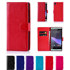 PU Leather Wallet Flip Case Cover for HTC U11/ Play/10/M9 /M8/Desire 626/A9