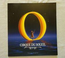 "2003 Cirque Du Soleil ""O"" Souvenir Program Bellagio Las Vegas Near MINT"