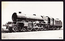 Photo Postcard LMS London Midland & Scottish Train Locomotive 6203 Engine RPPC