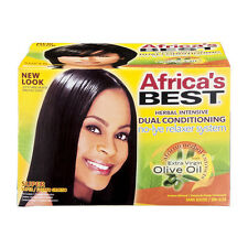 Africa's Best No Lye Herbal Intensive Dual Conditioning Relaxer System - Super