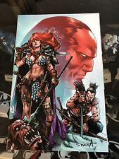 Red Sonja: Birth Of The She-Devil #4 (2019) 1:10 Davila Virgin Variant Dynamite