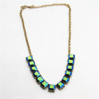 """New 20"""" Jcrew Glass Collar Necklace Gift Vintage Women Party Holiday Jewelry FS"""