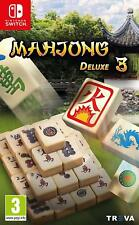 Mahjong Deluxe 3 (Nintendo Switch) game   BRAND NEW & SEALED   UK Version