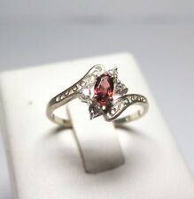 Cubic Zirconia Not Enhanced Natural Fine Rings
