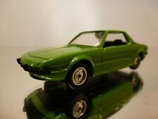 SOLIDO 33 FIAT X1/9 -  GREEN 1:43 - VERY GOOD CONDITION - 2/3