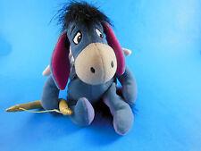 "Disney Store Cupid Eeyore Bean Bag Plush Doll Winnie the Pooh Valentines Cute 8"""