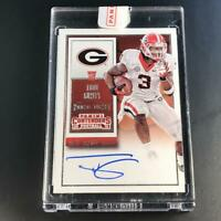 TODD GURLEY 2015 PANINI CONTENDERS #238 ROOKIE TICKET AUTO RC COLLEGE VARIATION