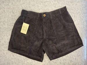Vintage Navy Corduroy Classics OP Style crop bermuda shorts size 32/34