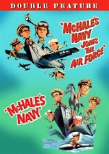 MCHALE'S NAVY + MCHALE'S NAVY JOINS THE AIR FORCE New Sealed DVD Double Feature