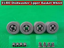 EURO Dishwasher Spare Parts Upper Basket Wheel Replacement Grey (D27) Brand New