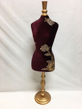 25' tall Jewelry Marroon & Gold Mannequin Retail Store Display