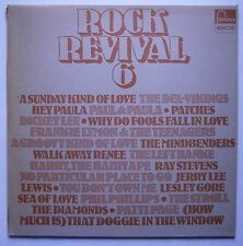 LP Various - Rock Revival 6 Rock & Roll, Doo Wop Mindbenders Lesley Core Nm