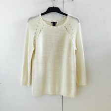 H&M Ivory Oversized Jumper. Size UK XS (6/8).