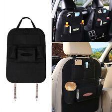 Schwarz Auto Car Seat Back Multi-Pocket Storage Bag Organizer Holder Zubehörteil