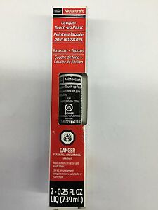Ford Lincoln UH Tuxedo Black Touch Up Paint Pen & Clear Coat OEM PMPC195007211A