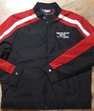 Men's Tri-Mountain Racewear Resident Evil Jacket Windbreaker Coat Black Large