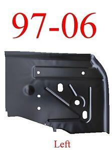 97 06 Jeep Wrangler TJ Left Rear Floor Pan, 0485-221