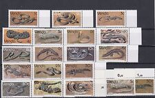 TIMBRE STAMP  19 VENDA Y&T#120-36 +2  SERPENT SNAKE NEUF**/MNH-MINT 1986 ~A41