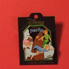 Peter Pan 1953 Slider, History of Art (Hoa) Disney Pin Le2000
