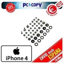 R348 Pack tornillos iphone 4/4G Kit tornillos iphone 4 Set arandelas iphone 4