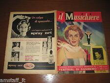 IL MUSICHIERE 1959/5=JULA DE PALMA=PIOVE DOMENICO MODUGNO=FESTIVAL SANREMO=