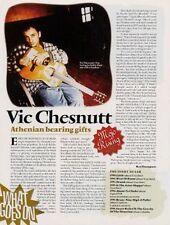 Vic Chesnutt R.E.M. 'Mojo' Interview Clipping