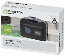 NEW DIGITECH Audio Portable Cassette Tape to MP3 Converter with PC Connection