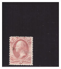 U.S. SC.O85 .03 CENT WASHINGTON WAR DEPARTMENT MINT HINGED W/THIN CAT.$275 PG31