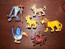 Bundle Disney The Lion King figure toy playset Zazu Simba Mufasa Nala Rafiki