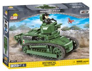Cobi 2973 - Renault FT-17 Tank (375pcs) - Building Blocks - Great War (WWI)