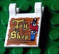 LEGO® Toy Shop sign (Christmas Winter village 2335 printed flag holder clip)