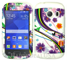 For Samsung Galaxy Ace Style S765c - KoolKase Hybrid Cover Case - Flower 93