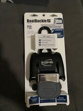BoatBuckle G2 Stainless Steel Retractable Transom Tie-Down (Black)