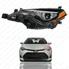 For 2017 2018 2019 Toyota Corolla LE CE Headlight Assembly w/ LED Driver Left
