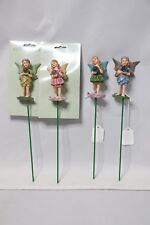 "Mission Gallery 8"" H Resin Fairy Plant Stake - 2190310"