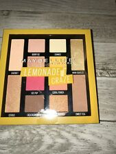 MAYBELLINE LEMONADE CRAZE EYE SHADOW PALETTE Limited Edition New Release